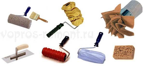 Способы нанесения декоративной штукатурки