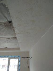 Декоративная штукатурка на потолок